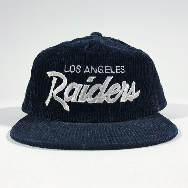Los Angeles Raiders Cord Script Zipback