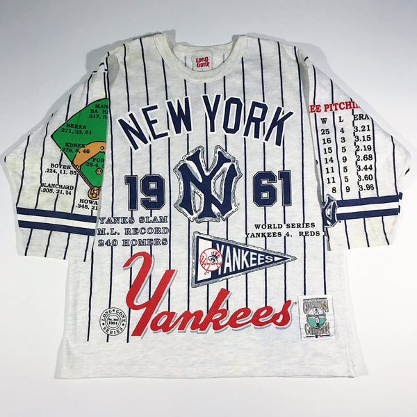 New York Yankees 1991 Long Gone 3/4 Shirt