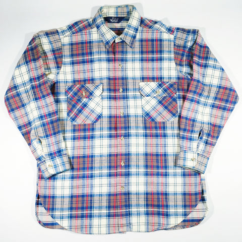 Woolrich Heavyweight Flannel Button-Up