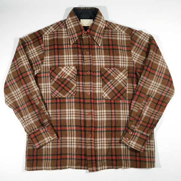 Kings Road 1970's Flannel Button-Up