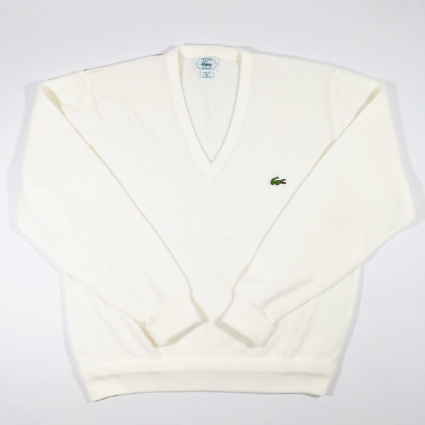 Lacoste Pullover Sweater Cream