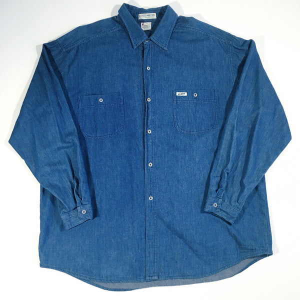 Guess Georges Marciano Denim Button-Up
