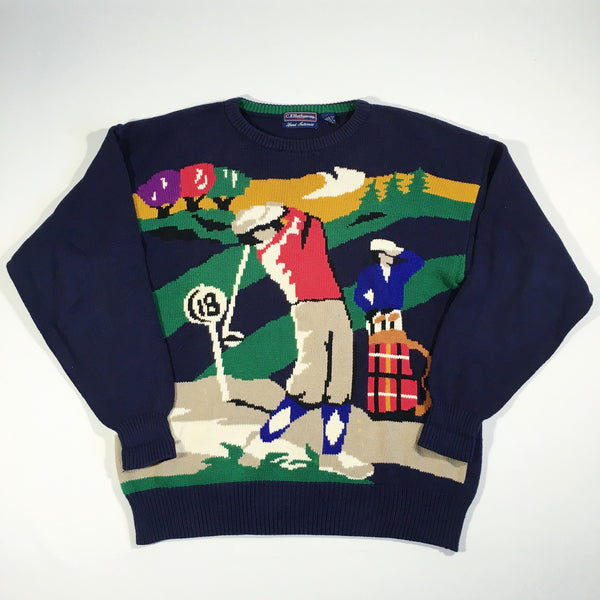 18th Hole Golf Sweater