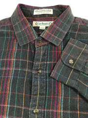 Cacharel Flannel Du Selle Button-Up