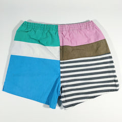 Members Only Color Block Swimwear