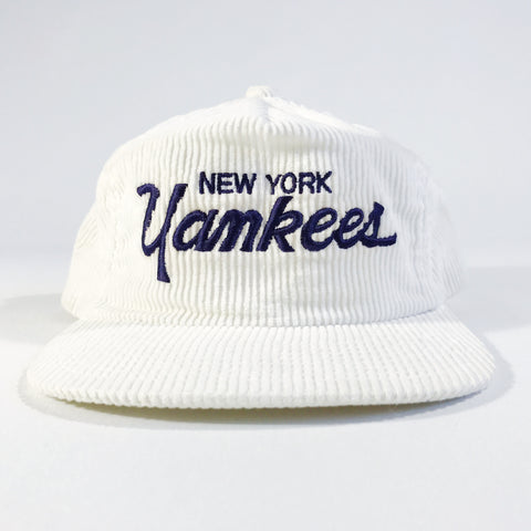 New York Yankees Cord Script Zipback