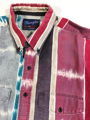 Wrangler Striped Button-Up Shirt