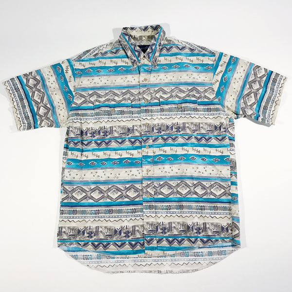 Wrangler Abstract Button-Up Shirt