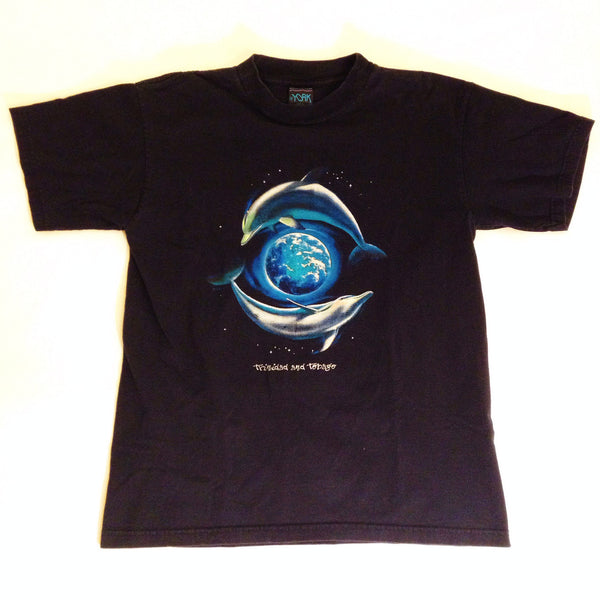 Majestic Dolphins Earth T-Shirt