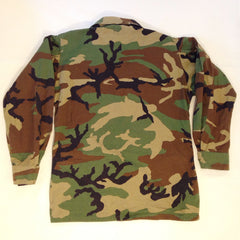 Army Brave Rifles Woodland Camo Button-Up