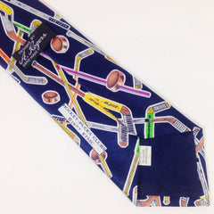 A. Rogers 1977 Hockey Tie