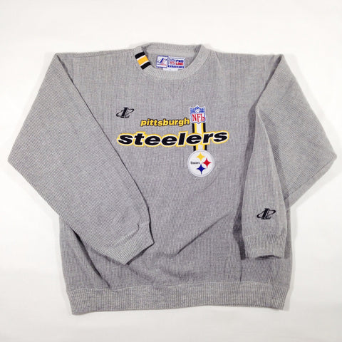 Steelers Logo Athletic Crewneck