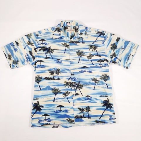 Campia Moda Palms Hawaiian Shirt