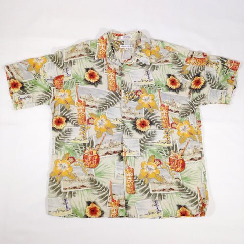 Pierre Cardin Drinks Hawaiian Shirt
