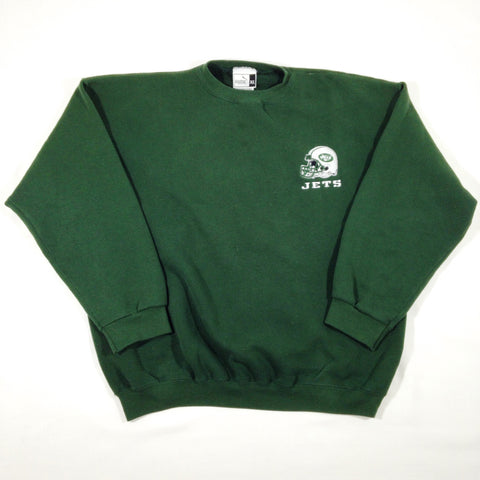 New York Jets Puma Crewneck