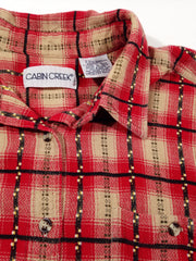 Cabin Creek Flannel Button-Up