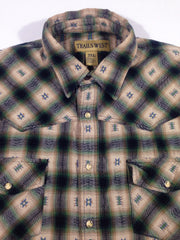 Trails West Flannel Button-Up