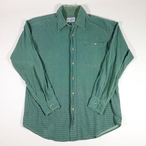 Haband's Ice House Flannel Button-Up