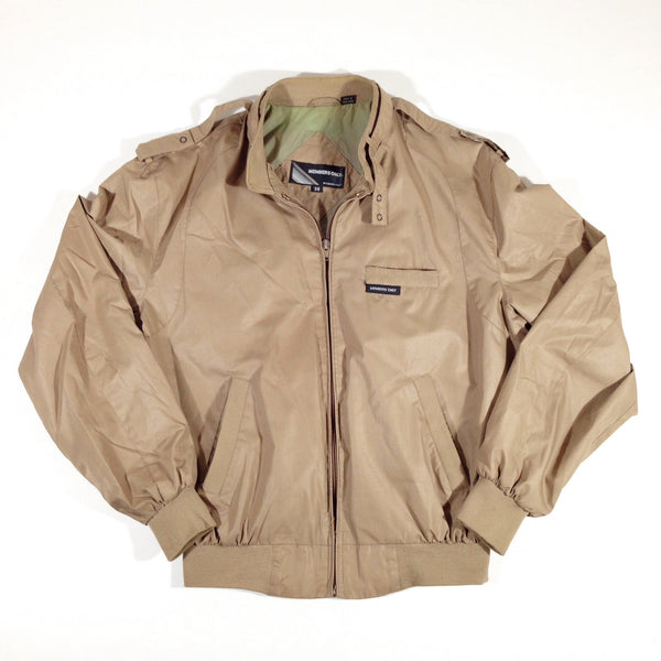 Members Only Bomber Jacket Tan