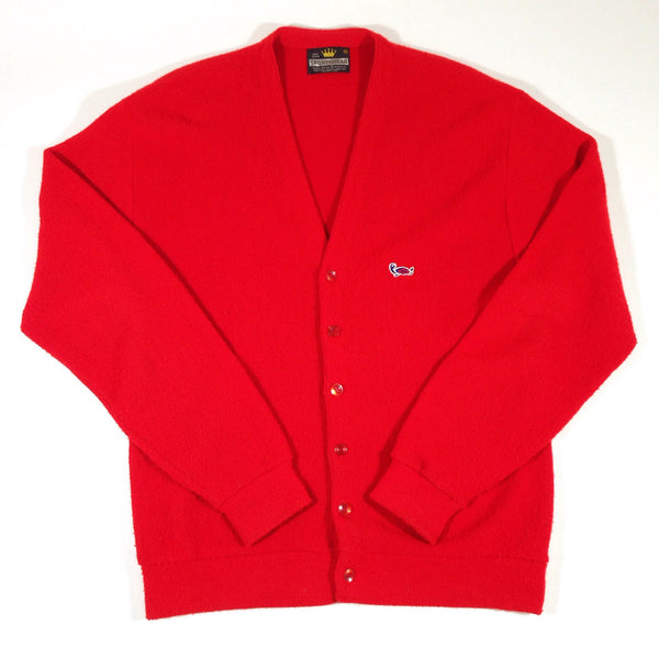 Crown Sportswear Cardigan Red