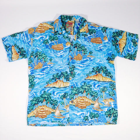 Pineapple Connection Palms Hawaiian Shirt