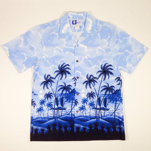 Styled By RJC Clouds Hawaiian Shirt