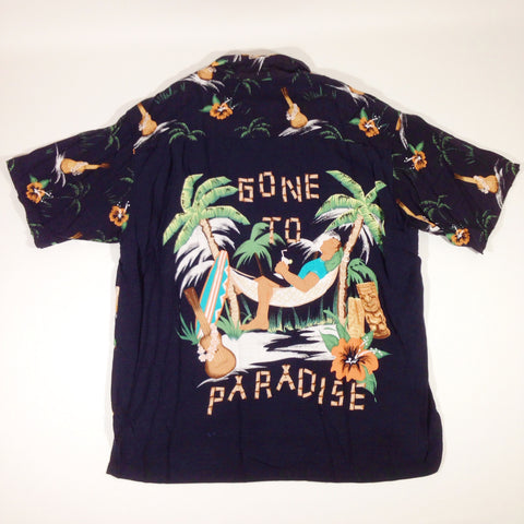 Gone To Paradise Hawaiian Shirt