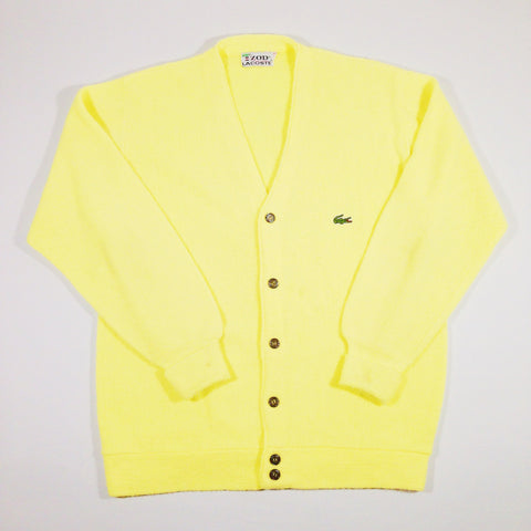 Lacoste Cardigan Yellow