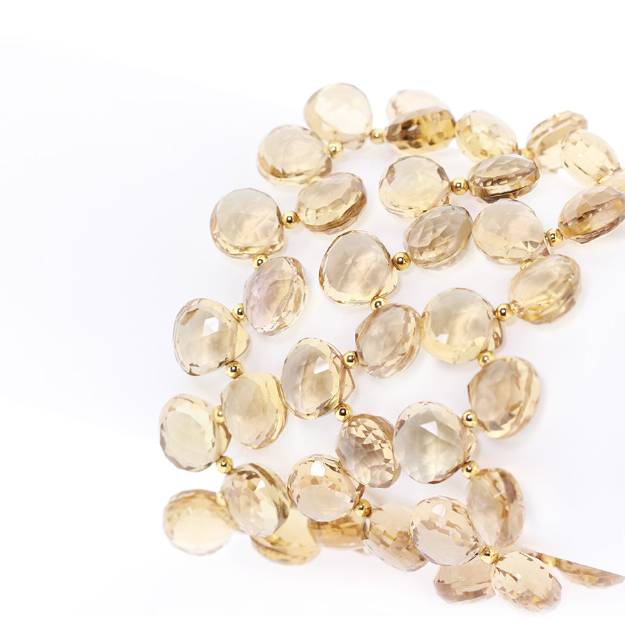 HEIRLOOM.series:   CHAMPAGNE CITRINE.18k   Bracelet
