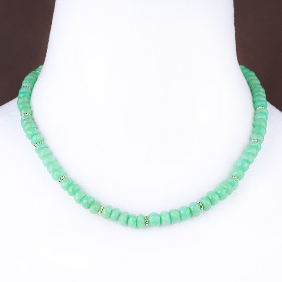 HEIRLOOM.series:   CHRYSOPRASE.14k