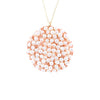 DISC.pendant:  PEARLS.large