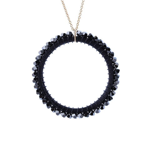 HOOP.necklace:  size: L