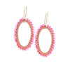 HOOP.earrings: OVAL.medium