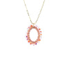 HOOP.necklace:  size: S  oval