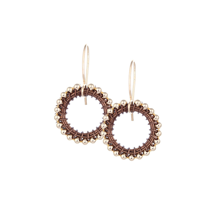 HOOPS:  14kt.goldfill:  small