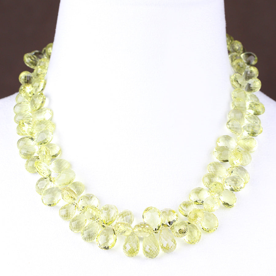 HEIRLOOM.series:   LEMON QUARTZ.18k