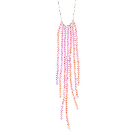 SEA.series:  LURE.necklace: pale pink