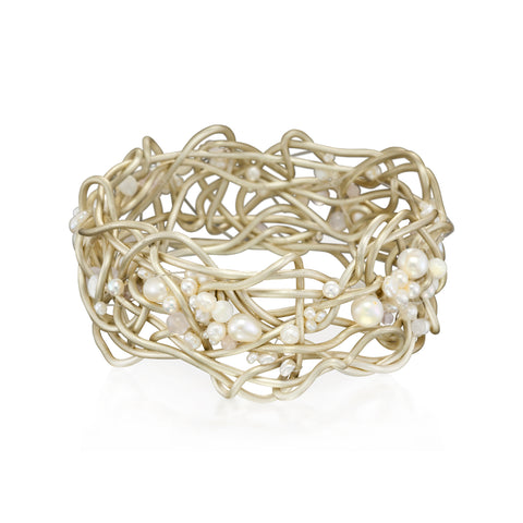 NEST.bracelet  ANTIQUE with pearls