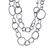 ORBIT.chain  MIXED.stones: MIXED.shape.SMALL:  adjustable
