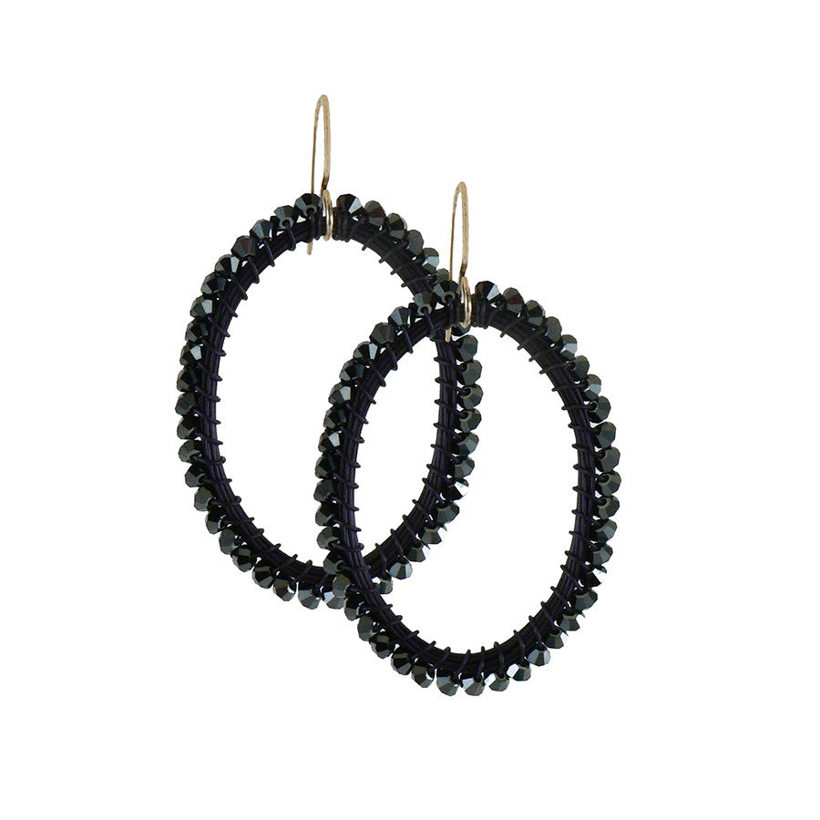 HOOP.earrings: OVAL.large