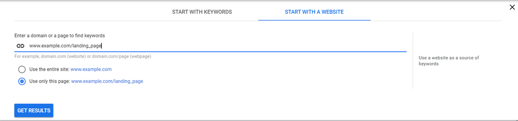 Google Ads - search term report