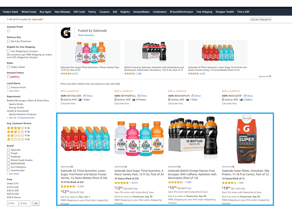 Sponsored Products Ads Amazon