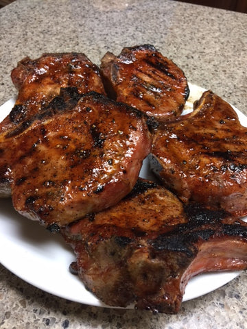 How to cook a pork chop on gas grill