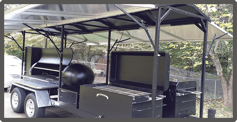 Custom Barbecue Trailers