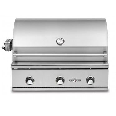"Delta Heat 32"" 3 Burner Built In Gas Outdoor Grill-DHBQ32G-DL"