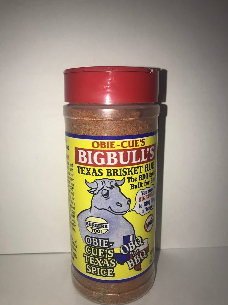 Obie-Cue's Big Bull's Texas Brisket Seasoning