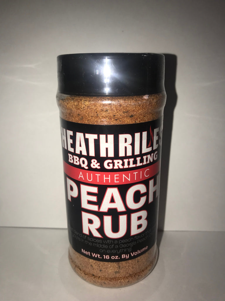 Heath Riles Peach Rub