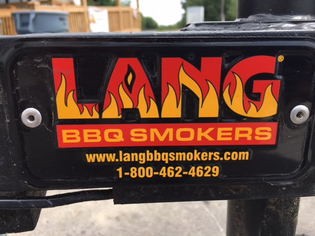 "Used Lang 60"" Deluxe Smoker"