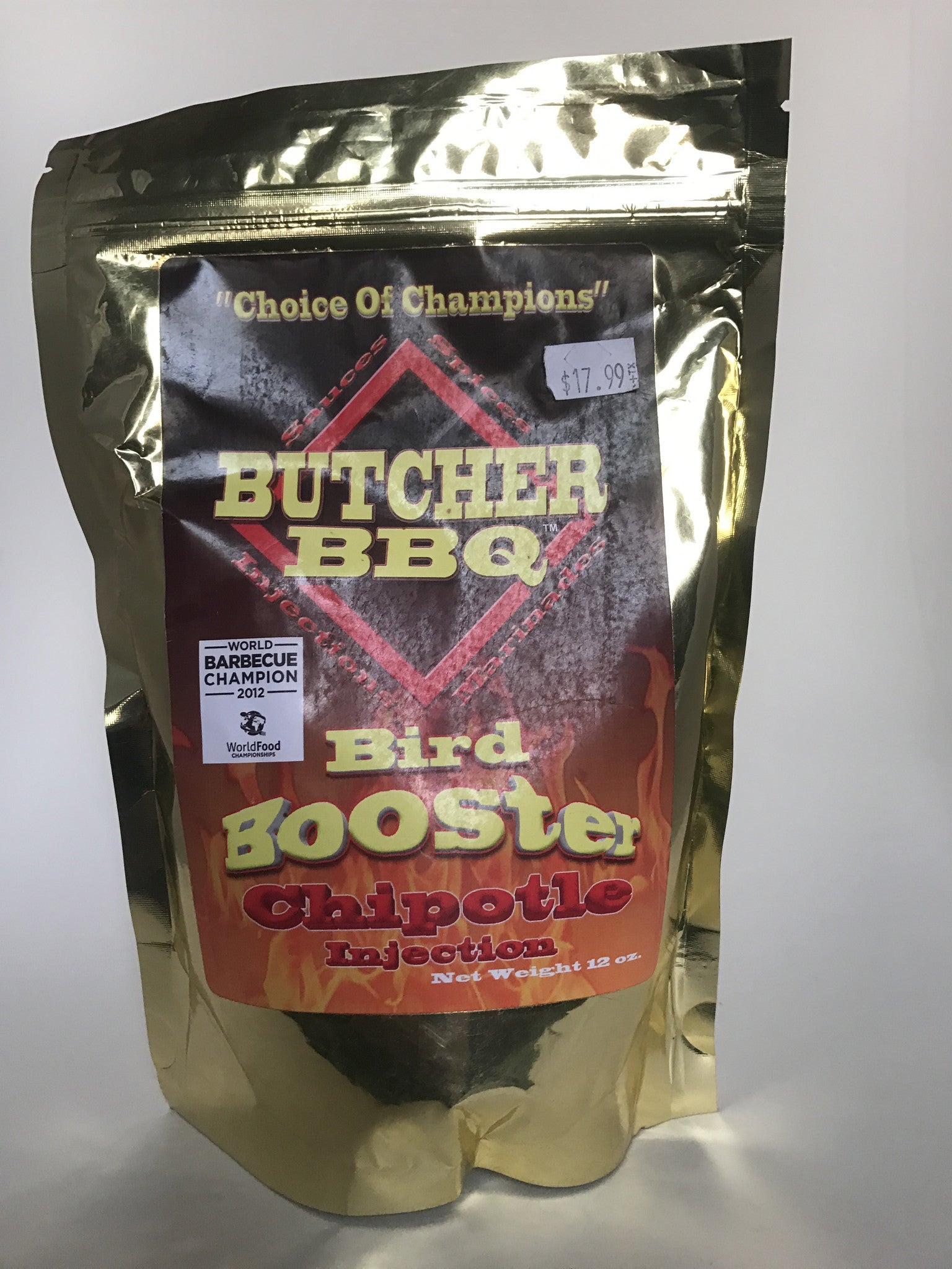 Butcher Bbq Bird Booster Chipotle Injection