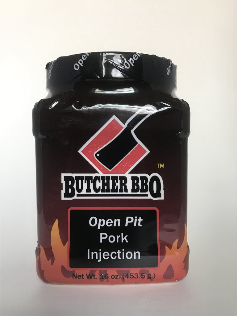 Butcher BBQ: Open Pit Pork Injection